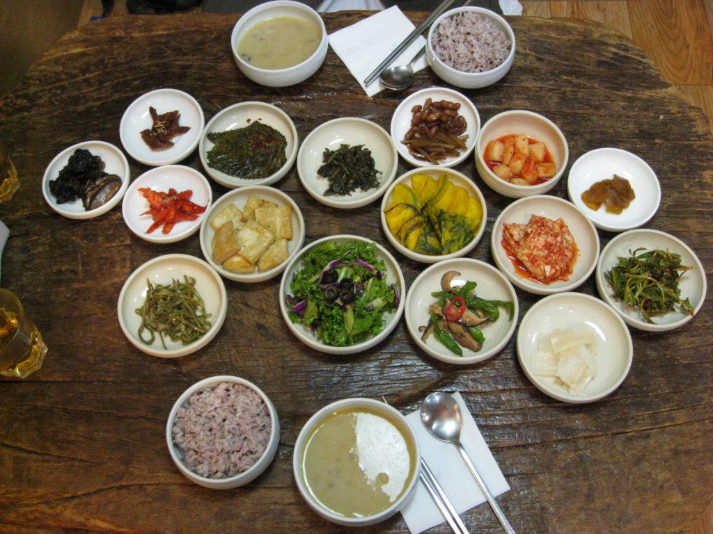 Korean Vegetarian Food