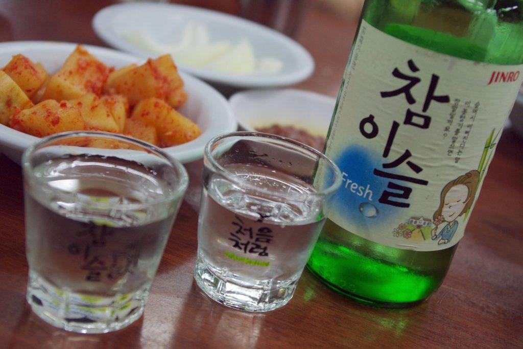 Korean Soju Food