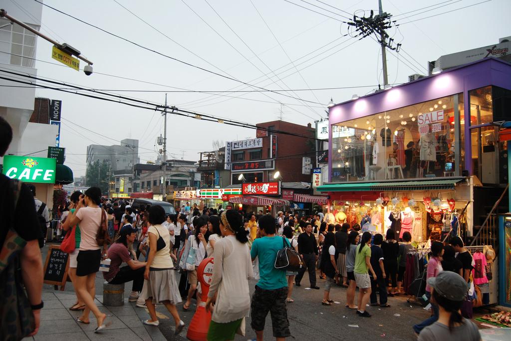 hongdae streets